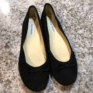 Steve Madden suede flats size 9.5 fits size 9